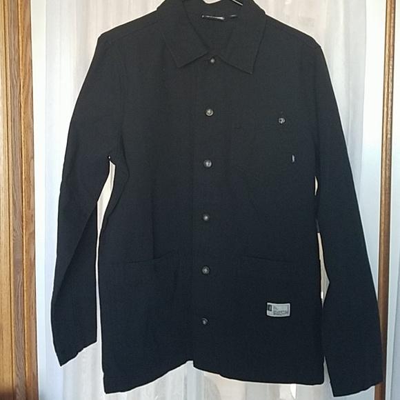 Vans Other - ☆☆☆NWT Van's Steelhead Black Denim Shirt/Jacket☆☆☆